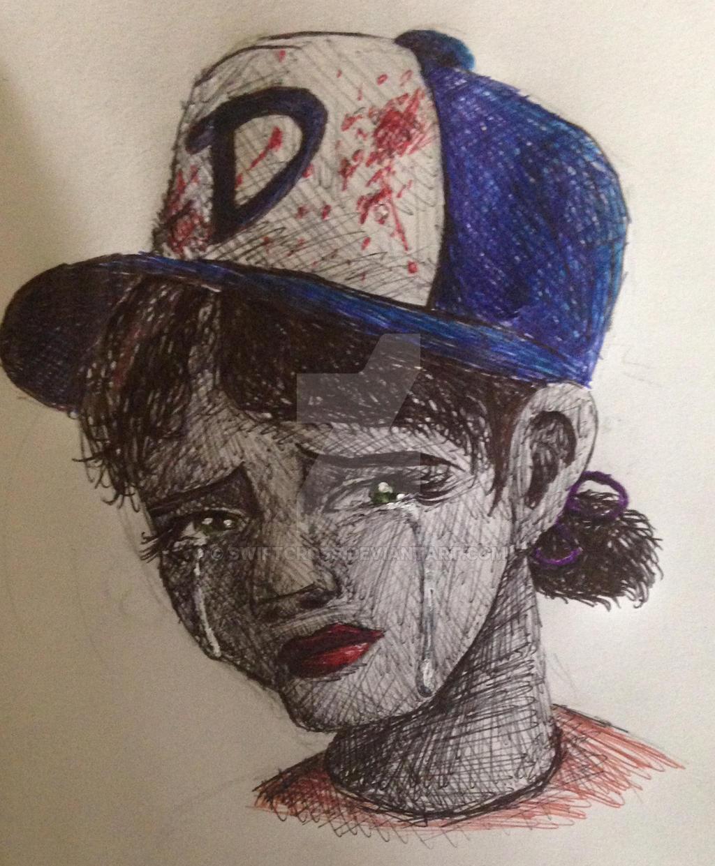Clem-in pen by swiftcross