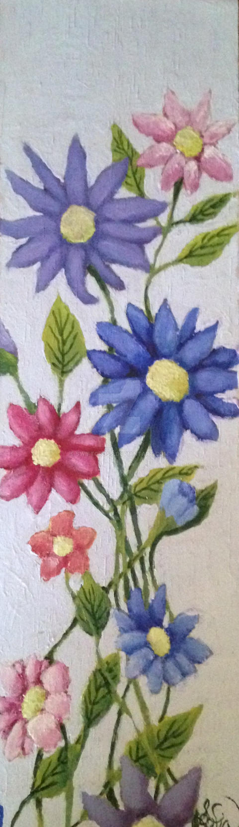 Flowers painting by swiftcross