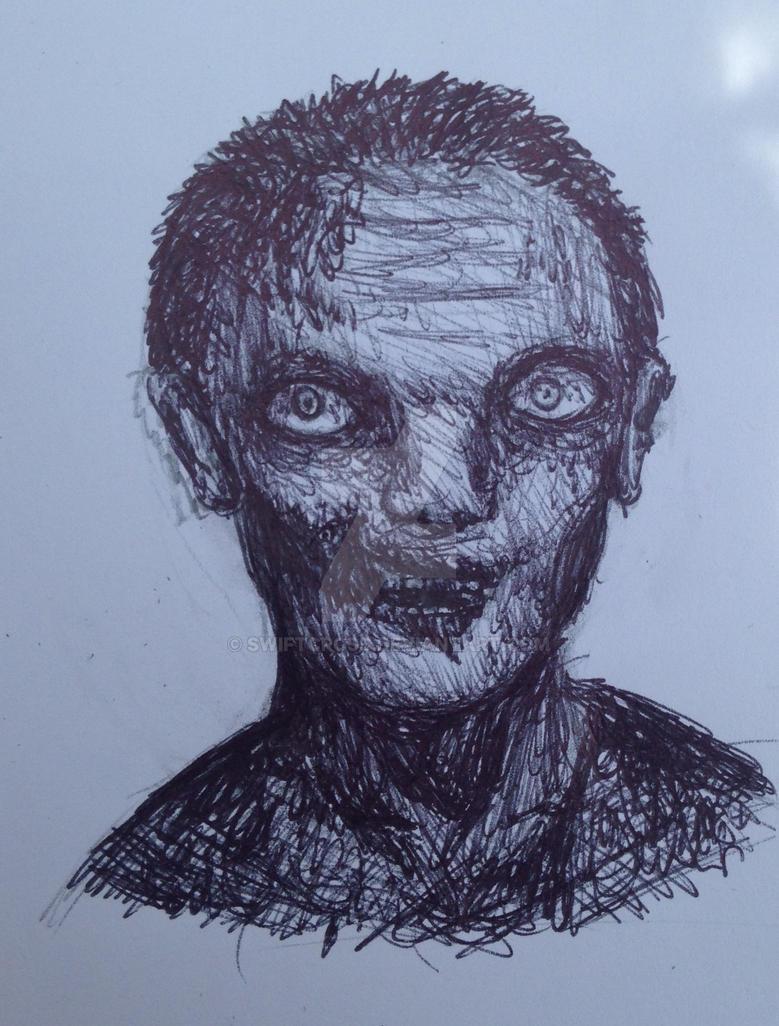 Walker in pen by swiftcross