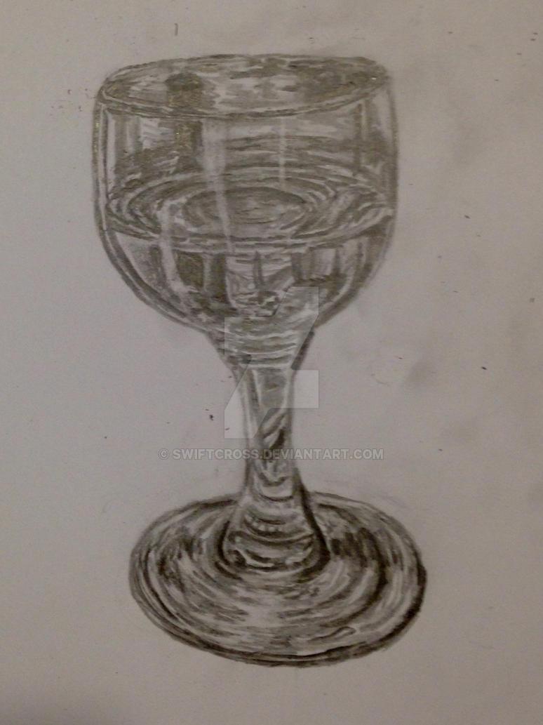 Wine glass by swiftcross