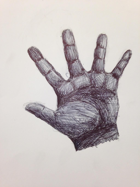 Hand in pen by swiftcross