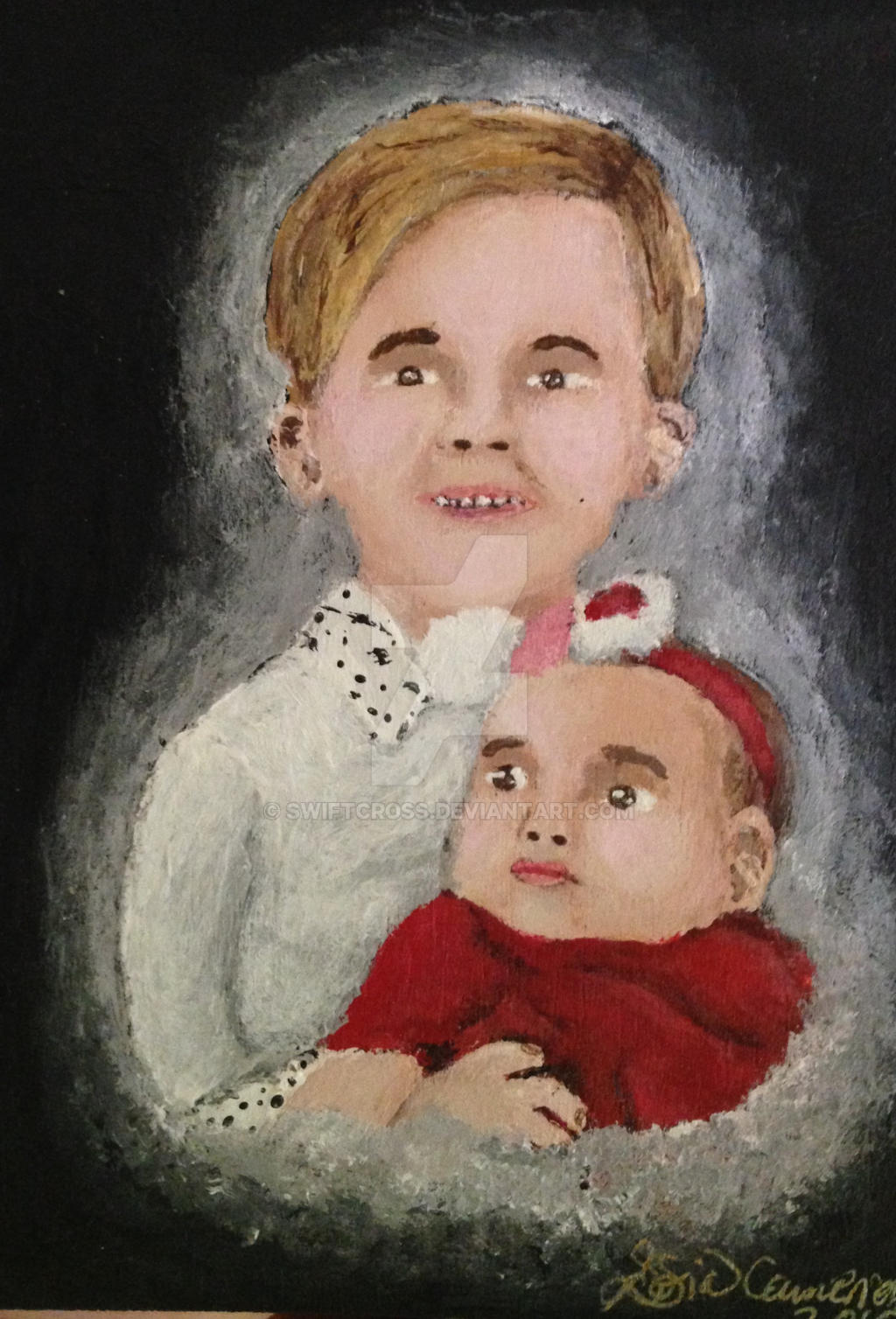 Children-painting by swiftcross