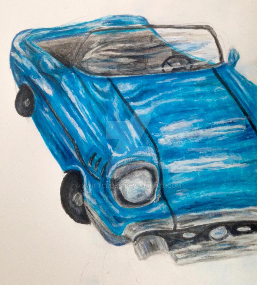 Blue Car by swiftcross