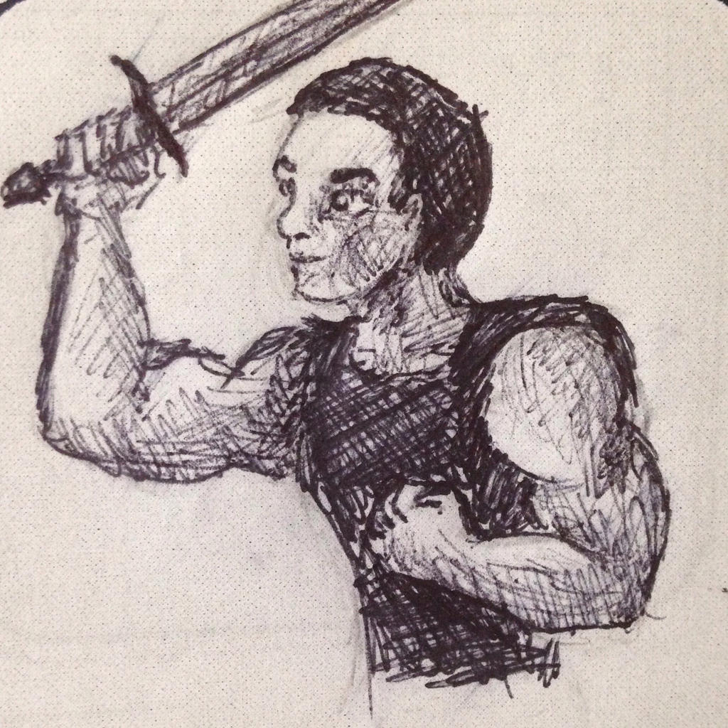 Warrior  by swiftcross