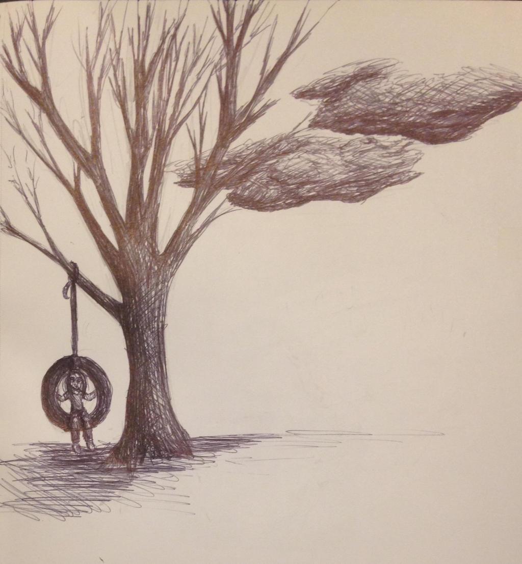 Tire Swing  by swiftcross