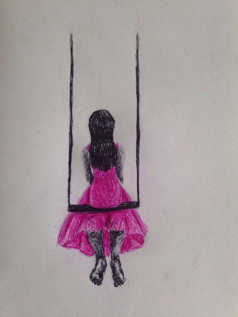 Swinging Alone by swiftcross