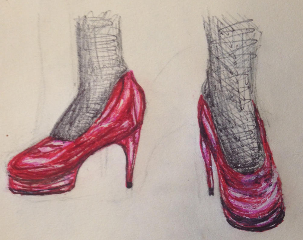 Red Heels by swiftcross