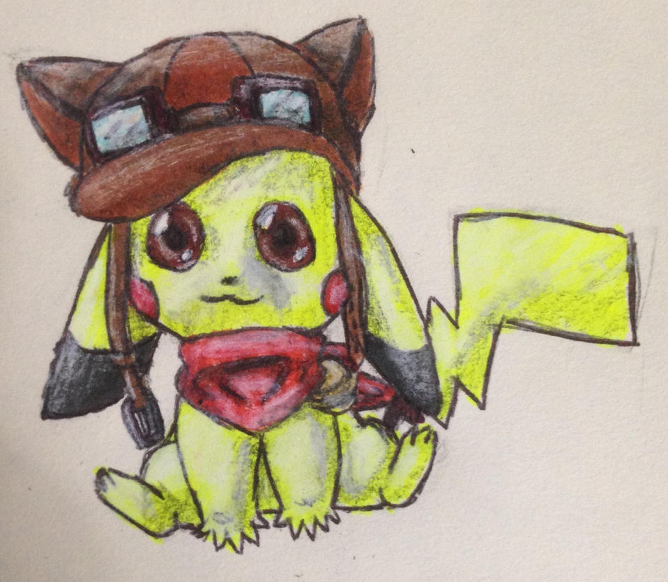 Pilot Pickachu by swiftcross