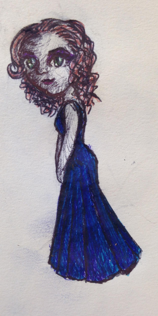 Blue Dress by swiftcross