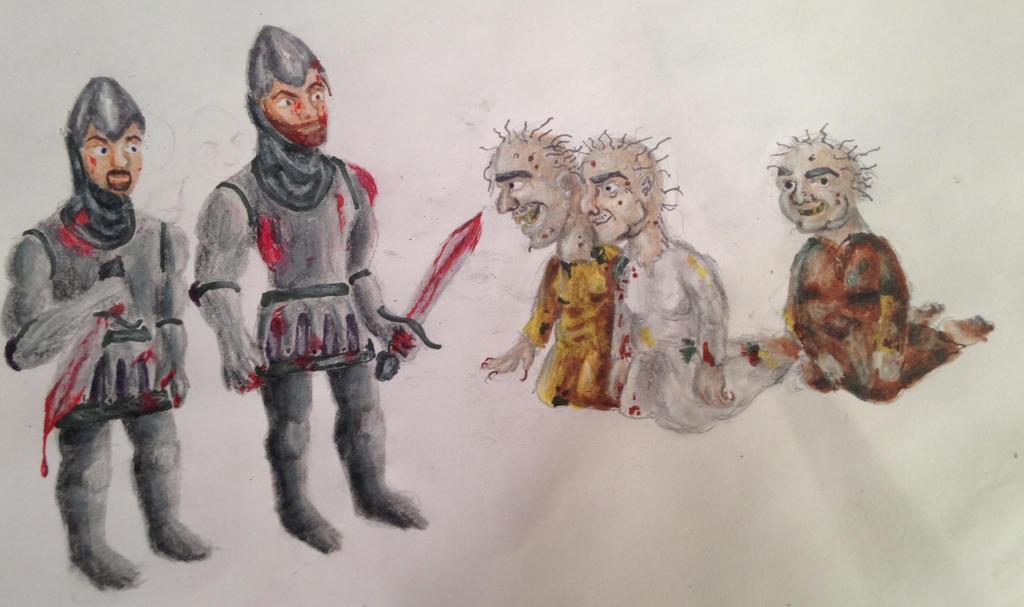 Macbeth Scene 1 by swiftcross