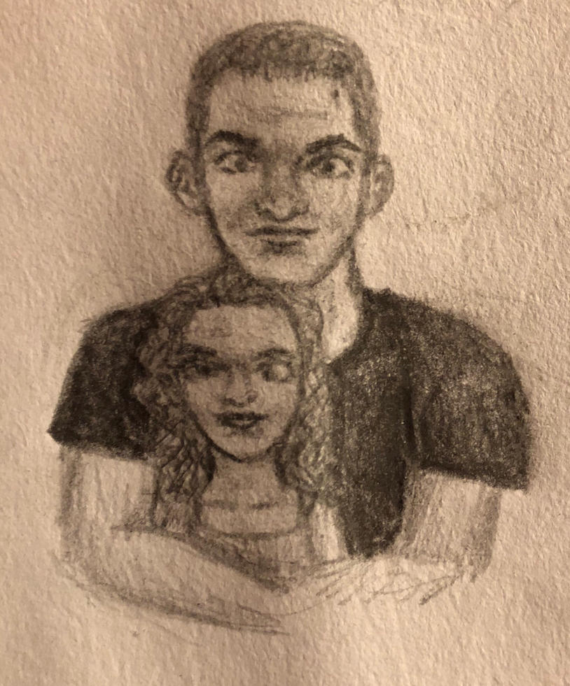 Couple in Pencil by swiftcross
