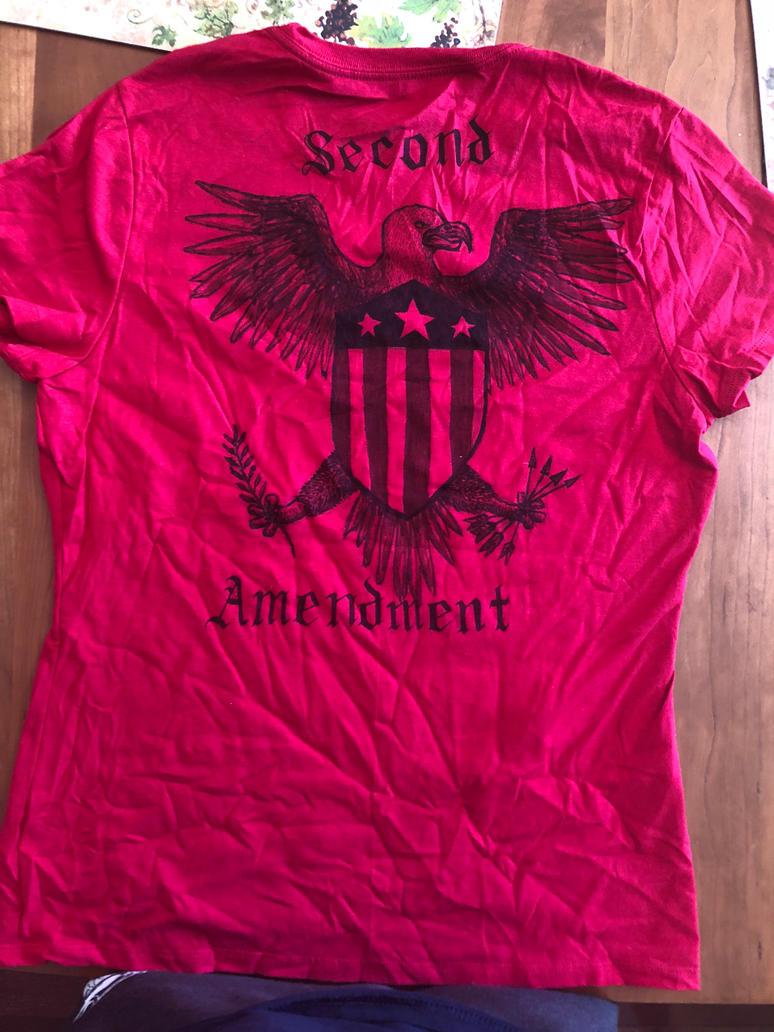 Second Amendment Shirt (back) by swiftcross