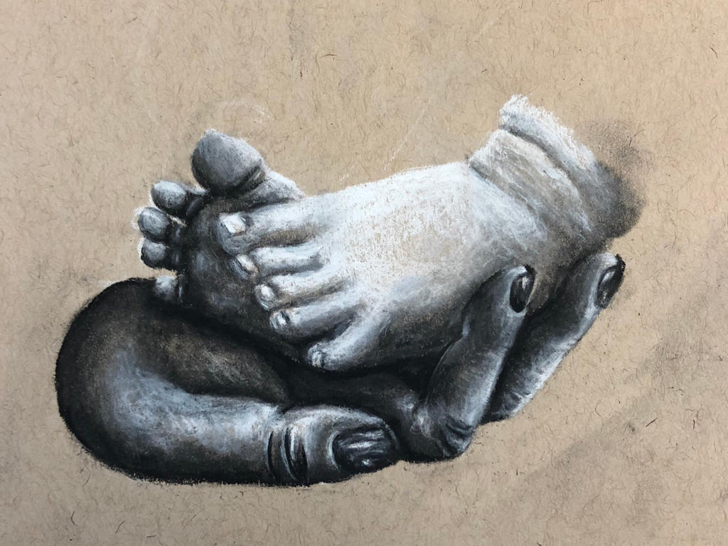 Baby Feet by swiftcross