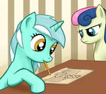 A Pony Drawing A Pony