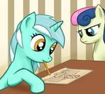 A Pony Drawing A Pony