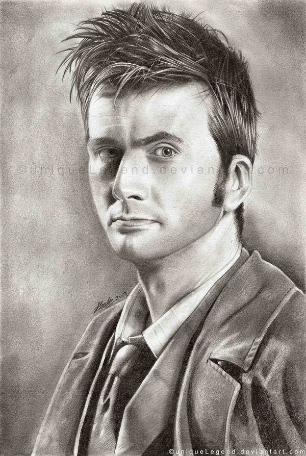 David Tennant - The Doctor by EternaLegend