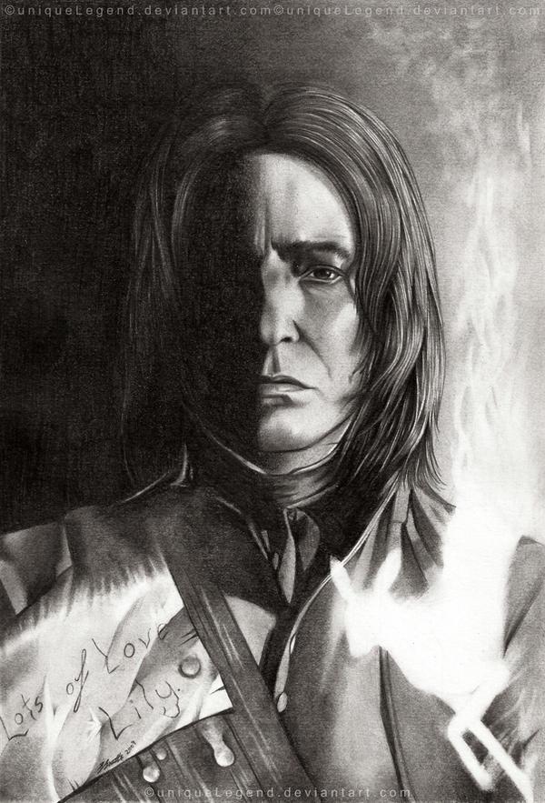 Severus Snape by EternaLegend