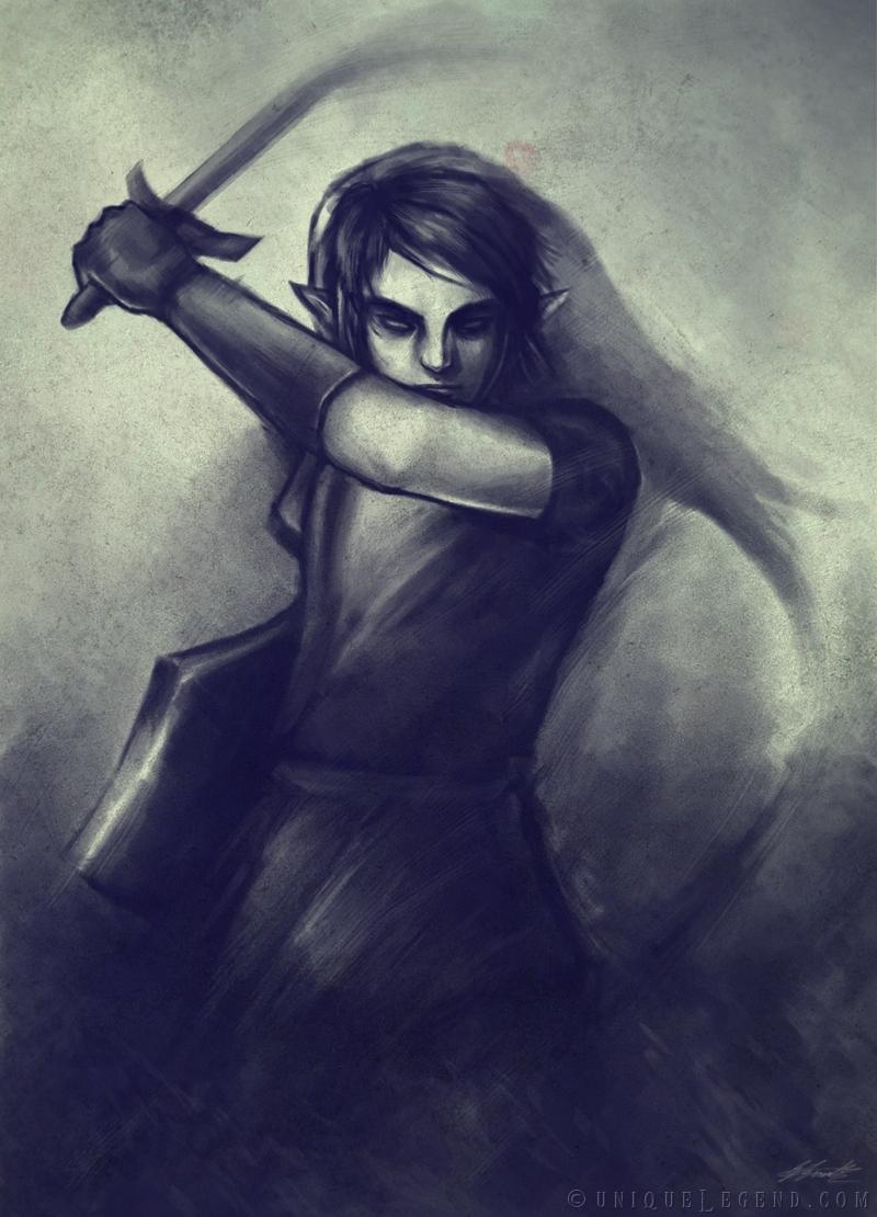 Dark Link's Mirage by EternaLegend