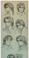 Flynn Rider Sketches