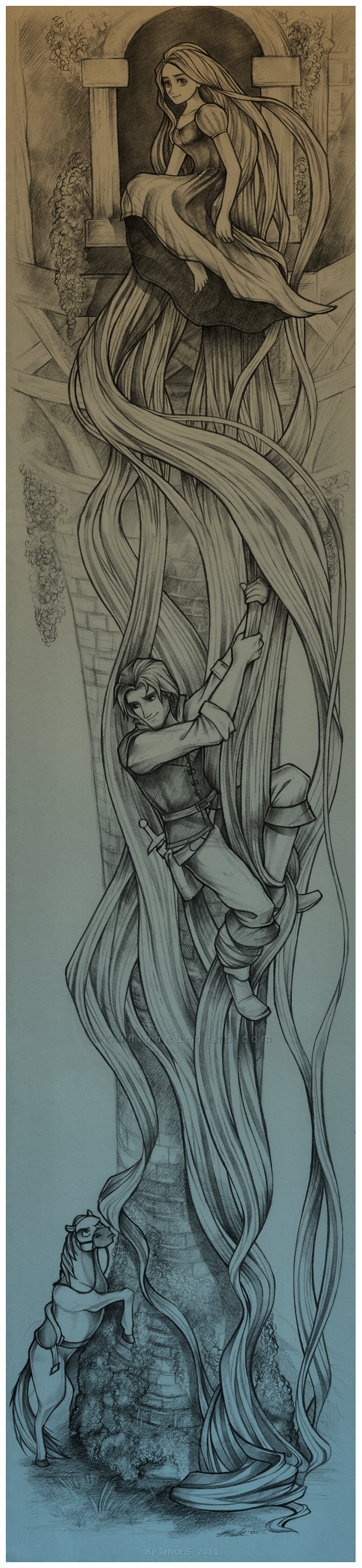 Disney - Tangled by EternaLegend