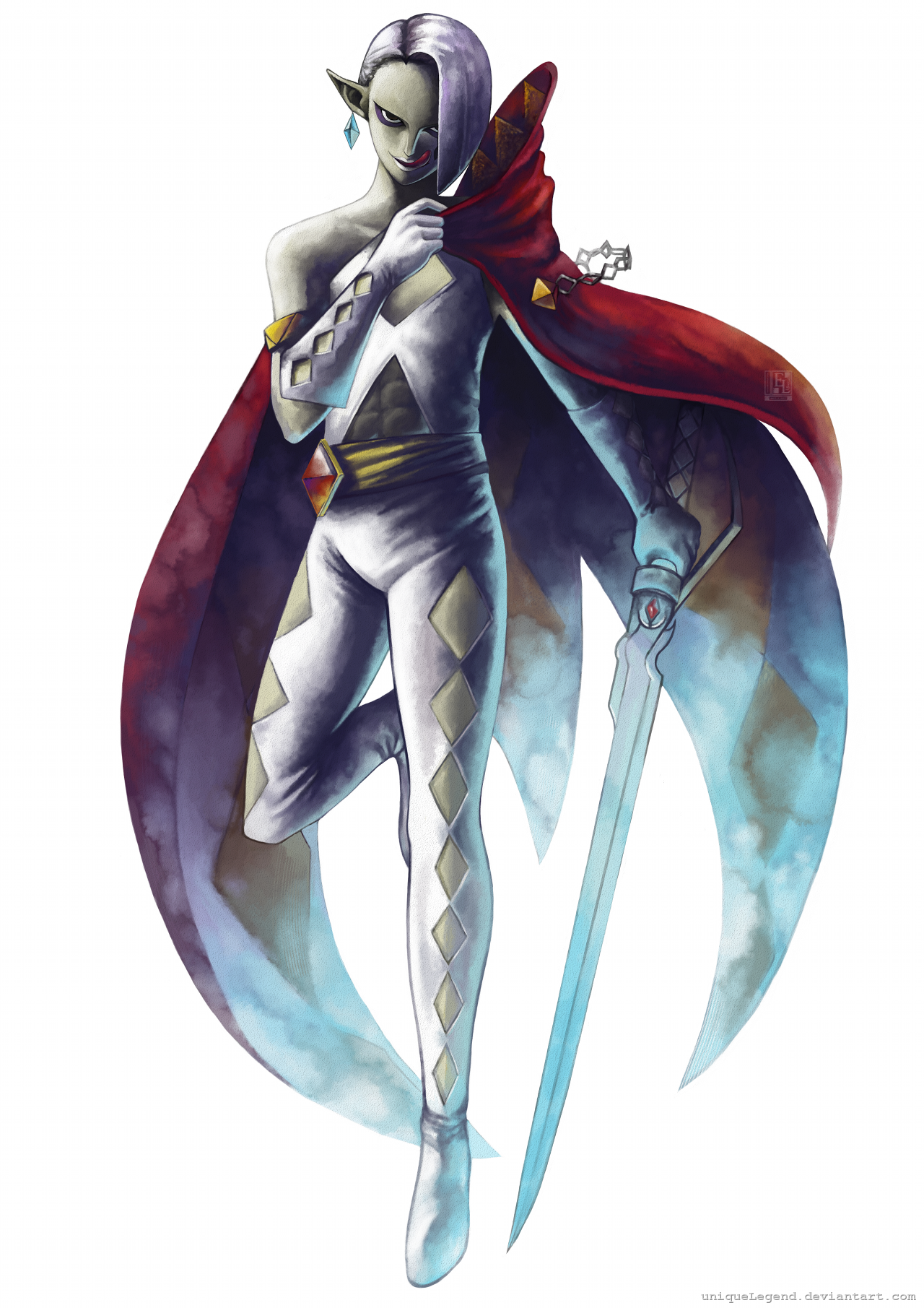 Demon Lord Ghirahim by EternaLegend
