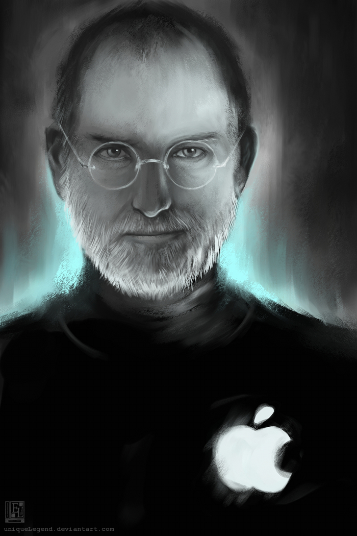Steve Jobs Tribute by EternaLegend