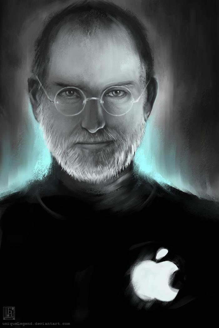 Steve Jobs Tribute by EternaLegend