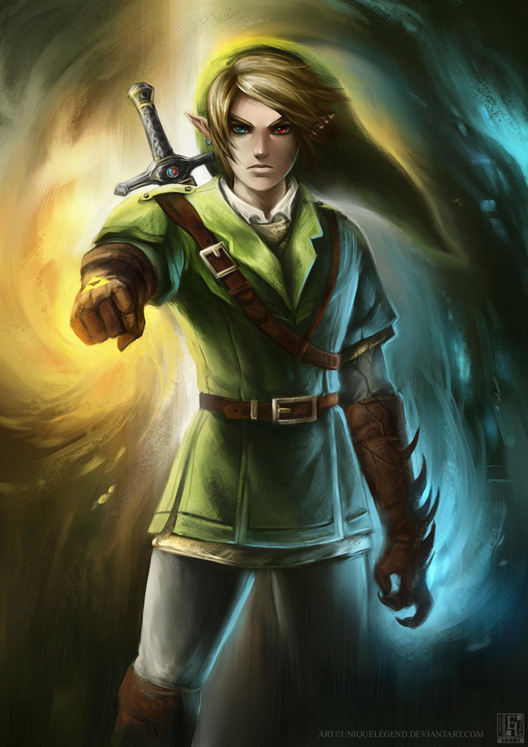 Corrupted Link by EternaLegend