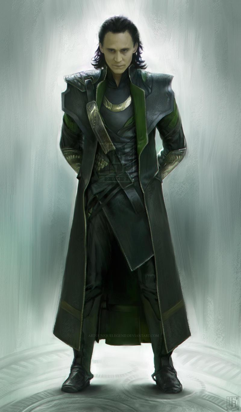 Loki by EternaLegend