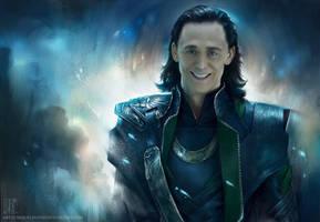 Smile Loki by EternaLegend