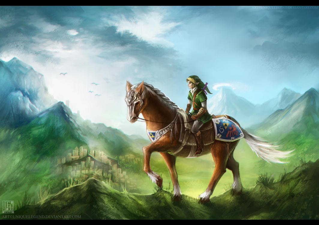 Knight of Hyrule by EternaLegend