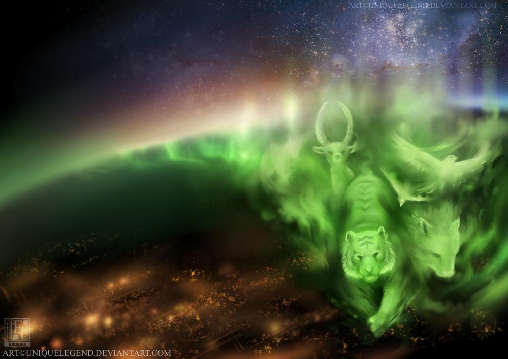 Aurora Spirits by EternaLegend