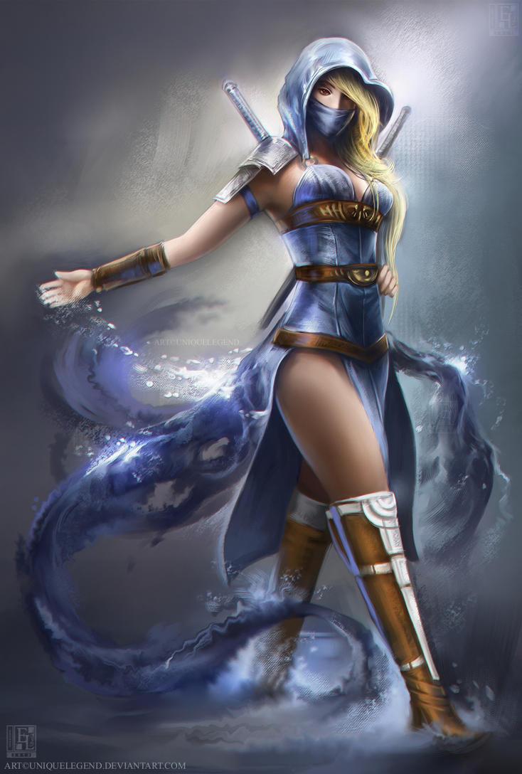 Water Assassin by EternaLegend