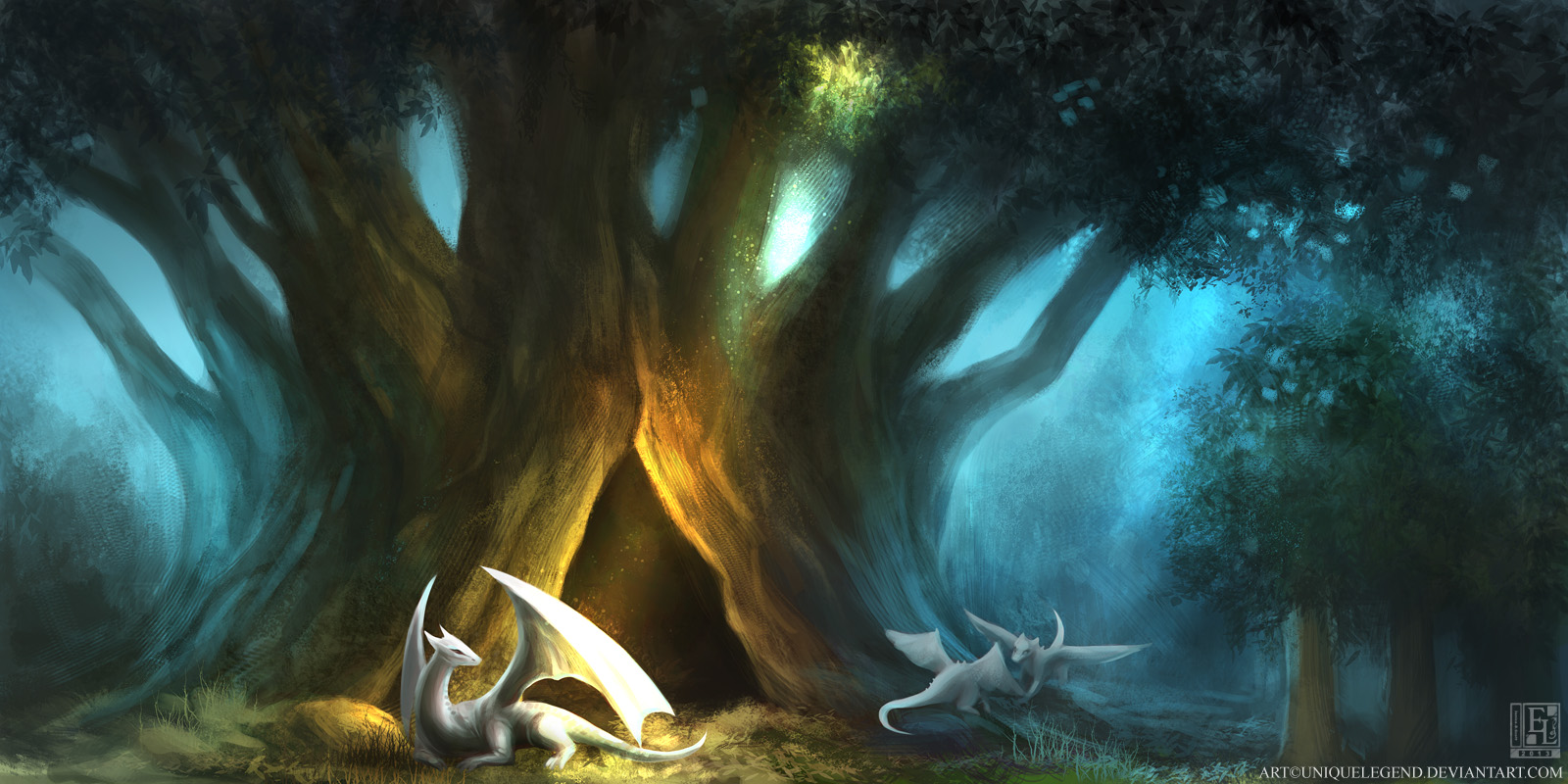 Dragon's Den by EternaLegend