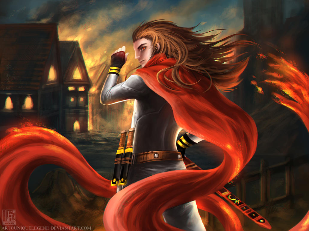 Fire Cape by EternaLegend