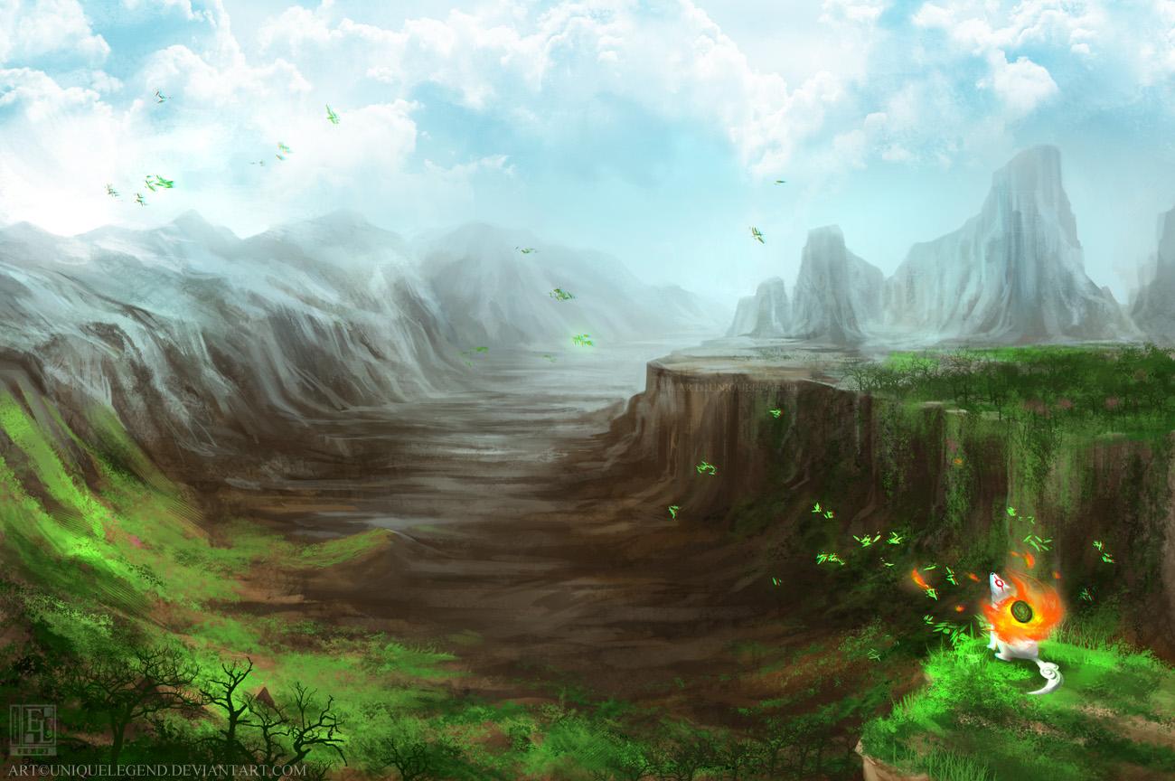 Howl of Okami by EternaLegend