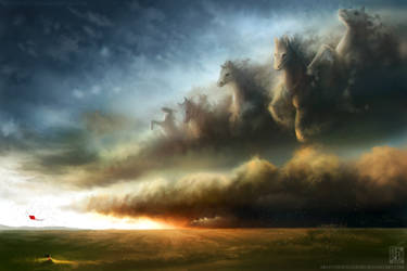 Galloping Storm by EternaLegend