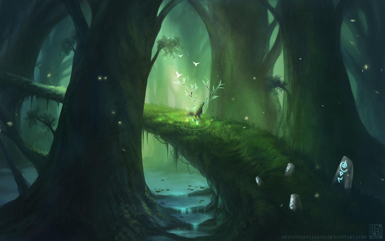 Forest Serenity by EternaLegend