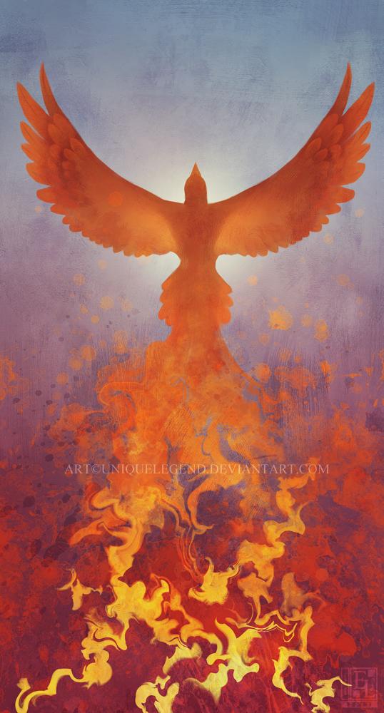 Phoenix Flight by EternaLegend