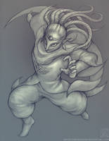 Yuga - sketch by EternaLegend