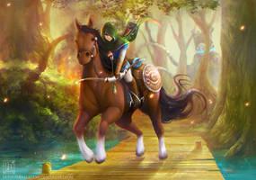 Zelda Wii U: The Chase by EternaLegend