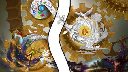 Art through Time by EternaLegend