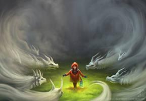 Mist Dragons