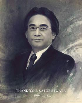 Thank you, Satoru Iwata