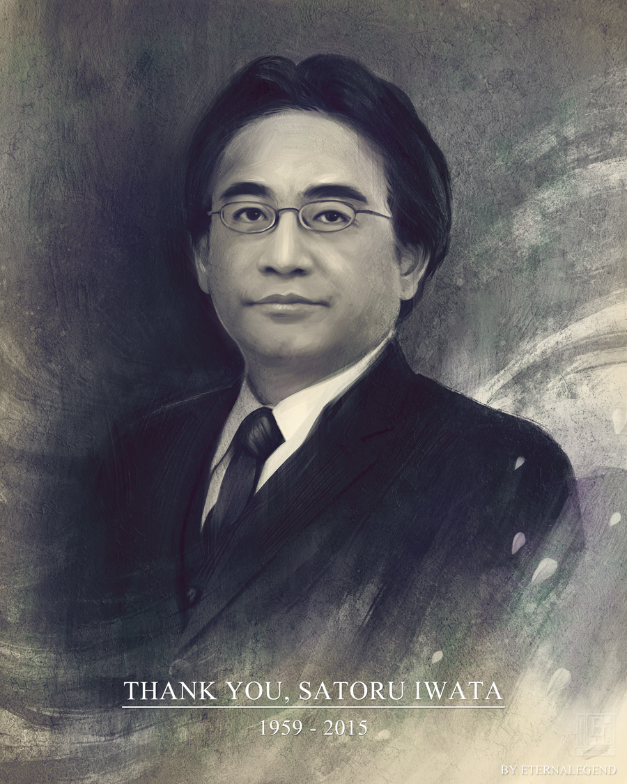 Thank you, Satoru Iwata by EternaLegend