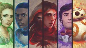 SW: The Force Awakens Wallpaper