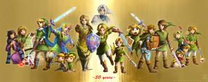 30 Years: The Legend of Zelda
