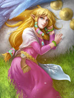 Skyward Sword: Zelda by EternaLegend