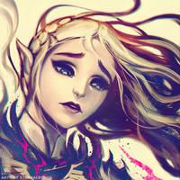 BOTW Zelda Sketch by EternaLegend
