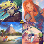 Link's Awakening by Jasqreate
